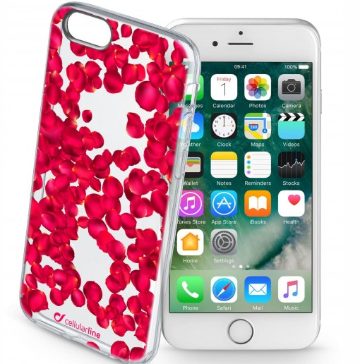 CUSTODIA IPHONE 7 ROSE ROSSE
