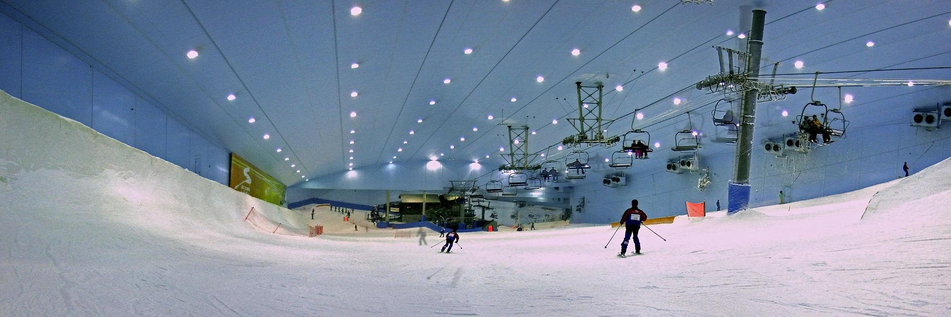 sciare a dubai bambini