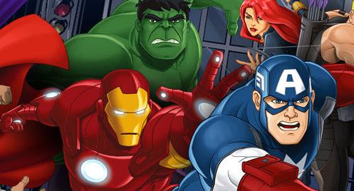 festa capitan america hulk iron man