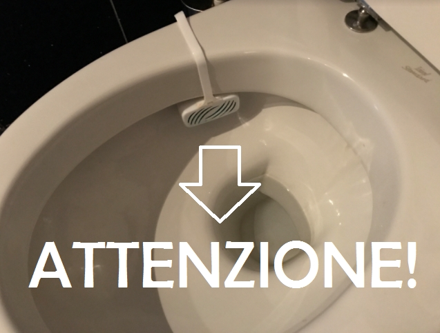 vaschetta profumata nel gabinetto