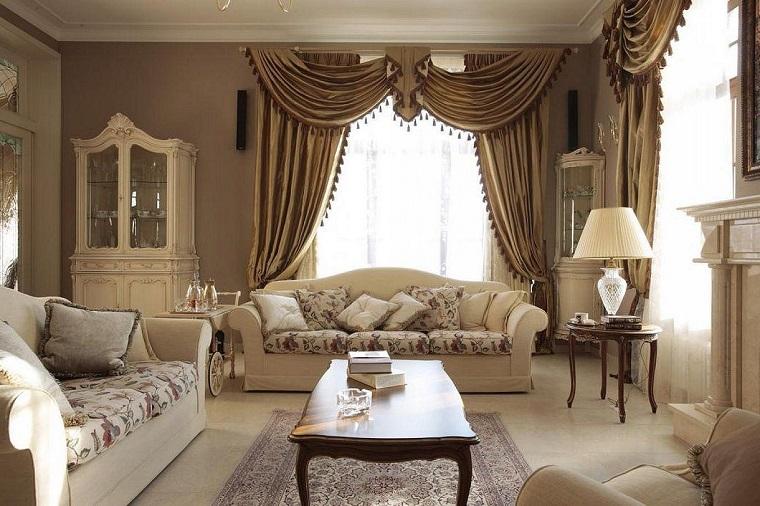 Divani classici tante idee per arredare il tuo salotto in for Arredamento moderno economico
